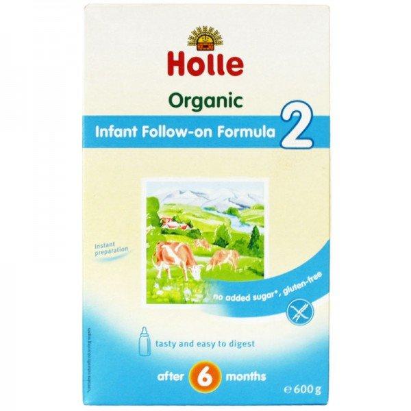 Holle  Био бебешко адаптирано мляко 2 от 6 м 600 гр.